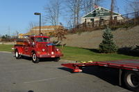 11-17-2012 Loading &amp; Unloading Engine 2 at The Rock