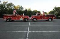 9/10/2012 WTC Tribute Lights &amp; Fire family Transport Rigs