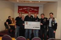 Fire Riders Donation to Fire Family Transport Foundation 01-15-2013