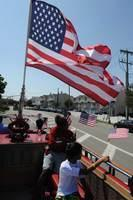 Wounded Warriors with FFTF E343 &amp; Fire Riders in Long Beach L I    07-22-2012